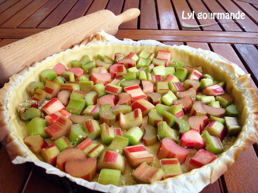 Tarte rhubarbe (2)