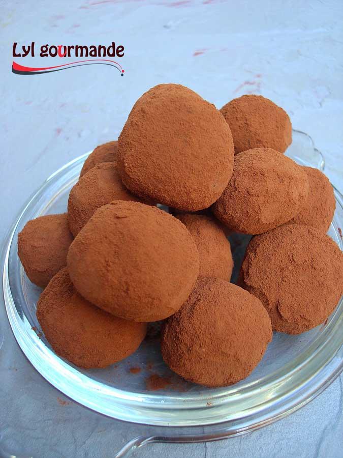 Truffes au chocolat 2 par Lylgourmand