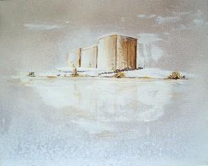 IlIland, acrylique sur toile, 33x41 cm - VENDU