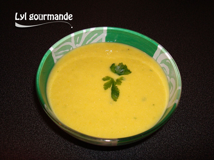 Soupe poireau-céleri