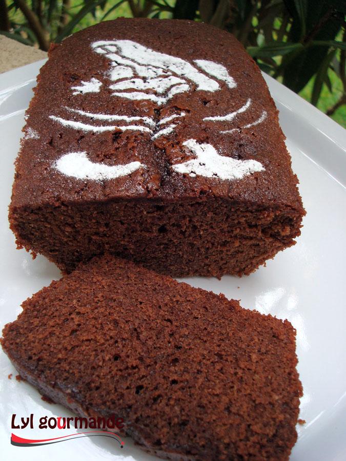 Cake au chocolat Valrhona