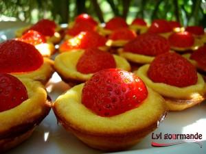 tartelettes fraise et mascarpone
